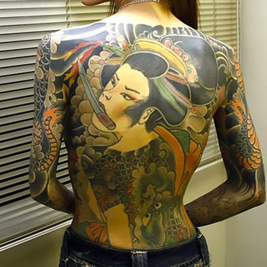 Oriental Tattoo for Women Tattoo