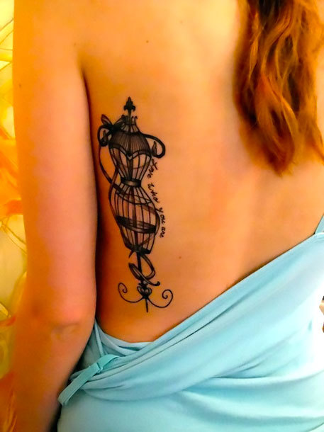 Original Birdcage for Women Tattoo Idea