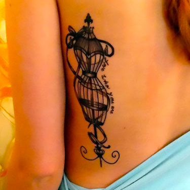 Original Birdcage for Women Tattoo