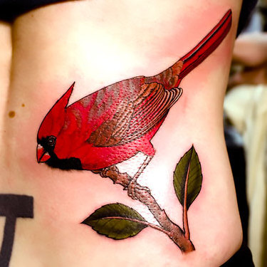 Red Bird Tattoo