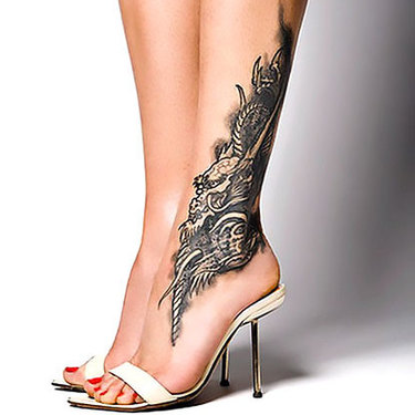 Female Ankle Tattoo