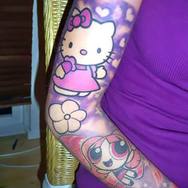 Female Forearm Tattoo