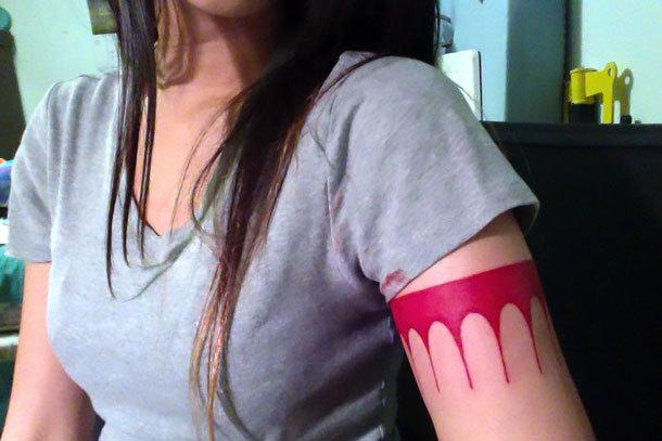 Pocahontas Arm Tattoo Idea