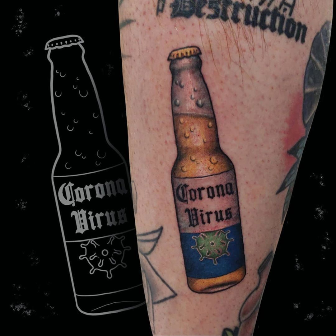 It's enough to drink beer. Tattoo Idea