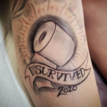 I Survived 2020 Tattoo