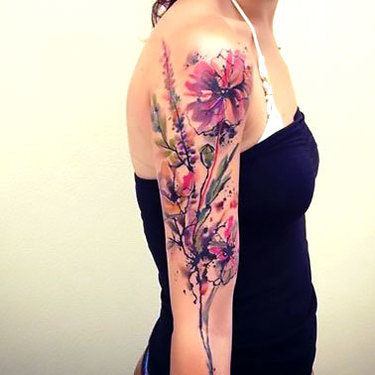 Female Sleeve Tattoo