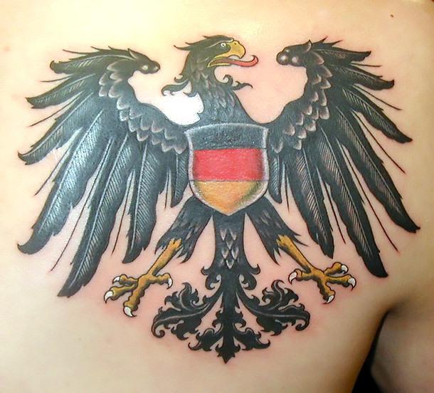 German Eagle Tattoo Idea