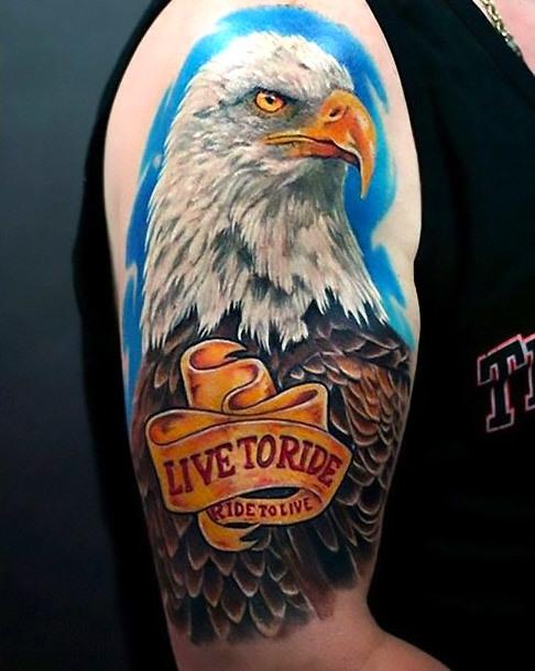 Live To Ride Tattoo Idea