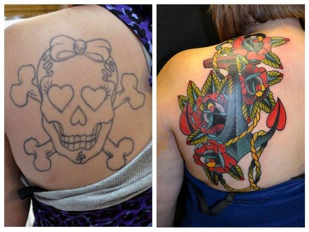 Cover Tattoo Idea
