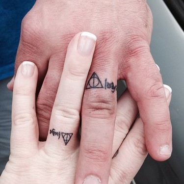 Always Harry Potter Wedding Tattoo
