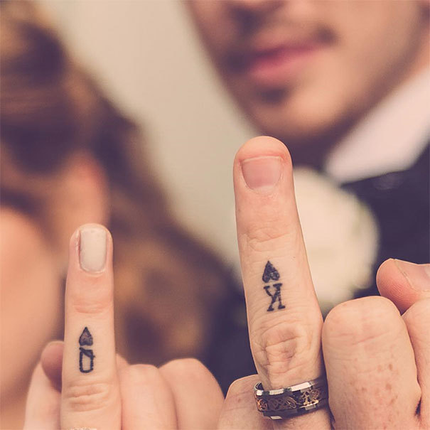 Creative Wedding Tattoos Tattoo Idea