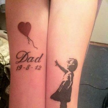 Dad Memorial Tattoo