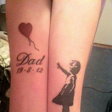 Dad Memorial Tattoo