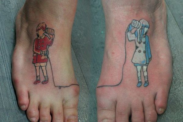Brother and Sister Tattoo Tattoo Idea