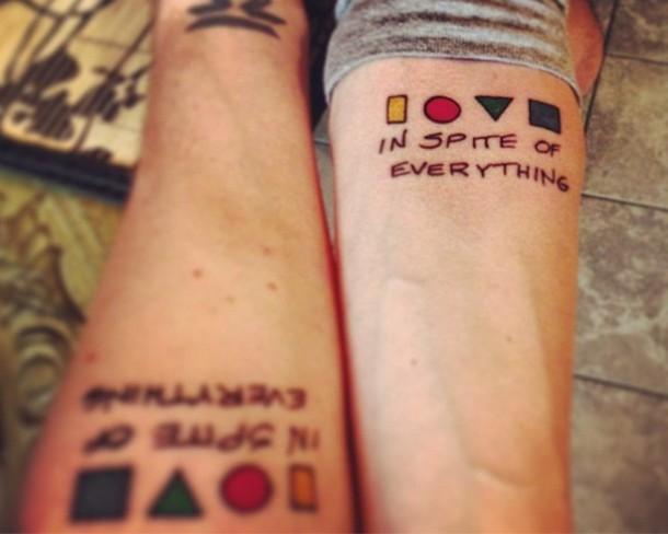 Awesome Brothers  Tattoo Idea