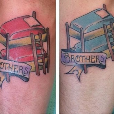 Bunk Bed Brothers Tattoo