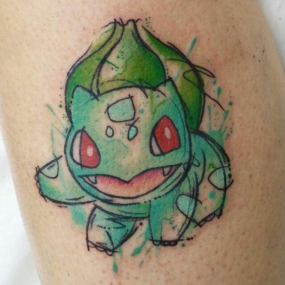 Bulbasaur Tattoo Idea