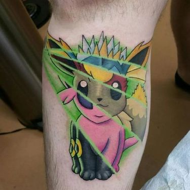Eevee Different Pokemon Tattoo