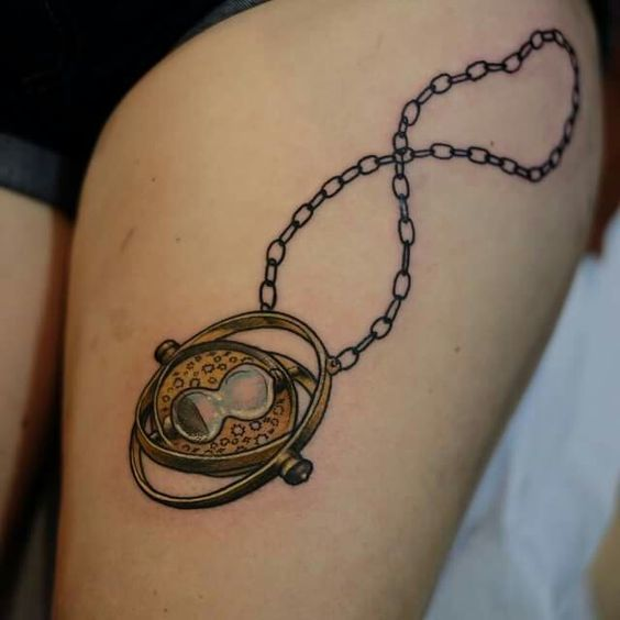 Time-Turner Tattoo Idea