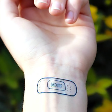 Breather on Wrist Tattoo