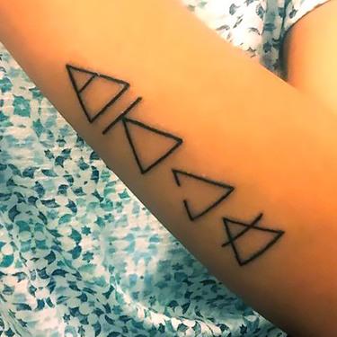Change Triangles Tattoo