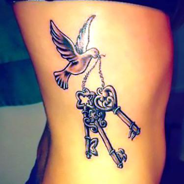 Destiny Keys Tattoo