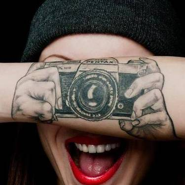 Camera Photo Tattoo