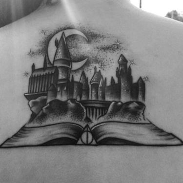 Harry Potter Book Tattoo