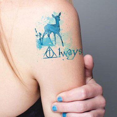Always Harry Potter Tattoo