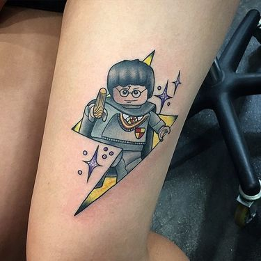 Lego Harry Potter Tattoo
