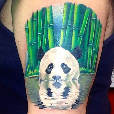 Amazing Panda Tattoo