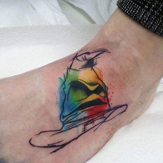 Magic Hat  Tattoo Idea