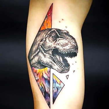 Cool Dinosaur Tattoo