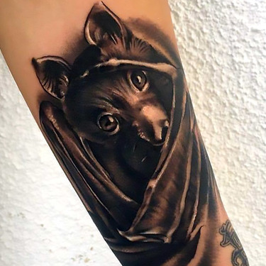 Cute Bat Tattoo Tattoo