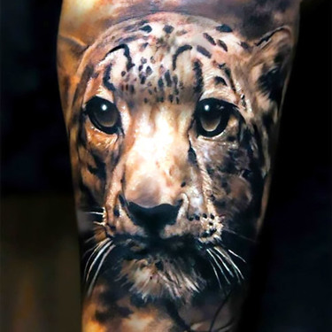 Cute Jaguar Tattoo