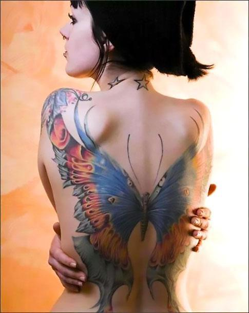 Amazing Butterfly Tattoo Idea