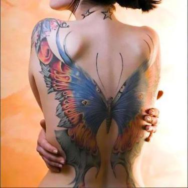 Amazing Butterfly Tattoo