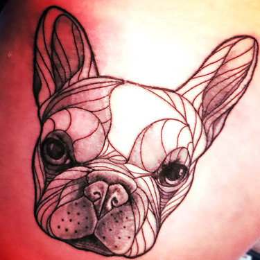 Original Bulldog Tattoo