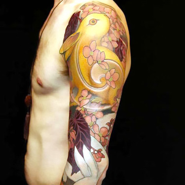 Rabbit Sleeve for Men Tattoo