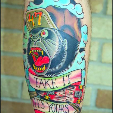 Take It Its Yours Tattoo