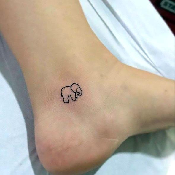 Small Ankle Tattoo Idea