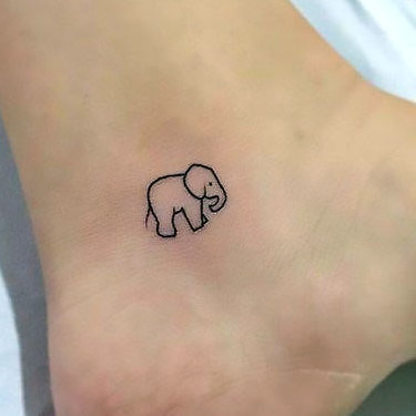 Small Ankle Tattoo