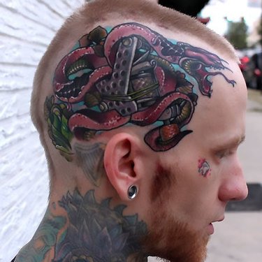 Snake Head Tattoo