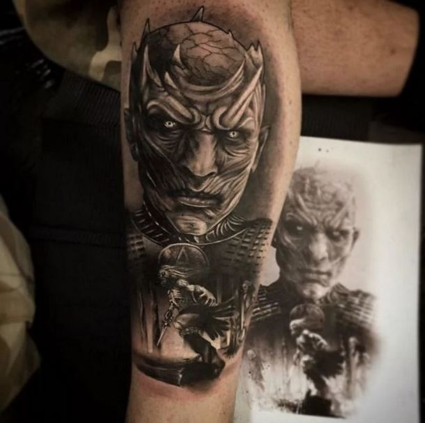Night King  Tattoo Idea