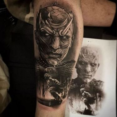 Night King  Tattoo