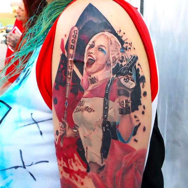 Amazing Harley Quinn Tattoo Tattoo Idea