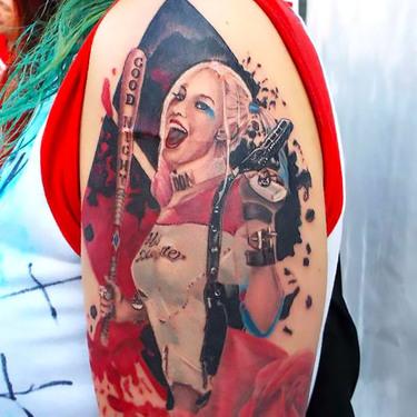 Amazing Harley Quinn Tattoo Tattoo