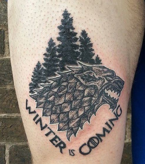 Winter is Coming Tattoo Idea