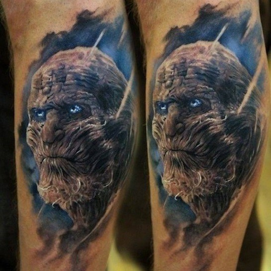 White Walker Tattoo Idea