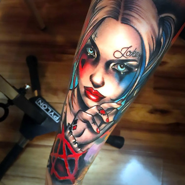 Harley Quinn Tattoo Sleeve Tattoo